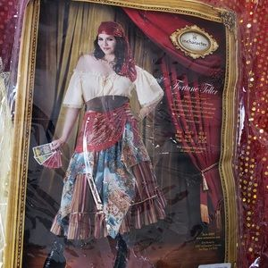 Other - Plus size 3x Fortune Teller costume